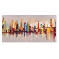 Moe's Home Collection Raw City at Large 79-Inch x 39-Inch Canvas Wall Art
