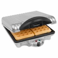 CucinaPro™ 4-Square Belgian Waffle Maker in Stainless Steel