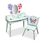 Olive Kids™ Butterfly Garden Vanity and Chair Set in Blue