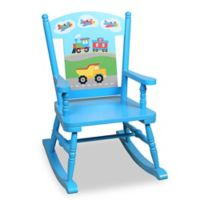 Olive Kids™ Trains, Planes, Trucks Rocking Chair in Blue