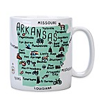 "My Place ""Arkansas"" Jumbo Mug"