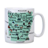 "My Place ""Arkansas"" Jumbo Mug"