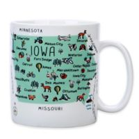 "My Place ""Iowa"" Jumbo Mug"