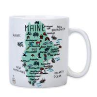 "My Place ""Maine"" Jumbo Mug"
