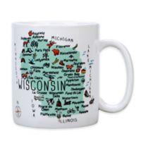 "My Place ""Wisconsin"" Jumbo Mug"