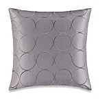 Make-Your-Own-Pillow Manhattan Square Throw Pillow Cover in Grey