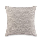 Make-Your-Own Pillow Agrabah Square Throw Pillow Cover in Grey