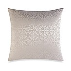 Make-Your-Own Pillow Orchid Square Throw Pillow Cover in White