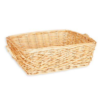 Household Essentials® Spring Bird Nest Willow Wicker Basket in Brown  sc 1 st  Bed Bath u0026 Beyond & Buy Wicker Baskets from Bed Bath u0026 Beyond