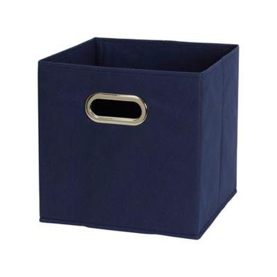 Household Essentials® Fabric Storage Bins In Navy (Set Of 6)