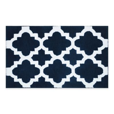 Navy Bath Rug Rugs Ideas