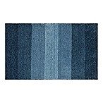 Adelaide Ombré Striped 20-Inch x 33-Inch Bath Mat in Navy