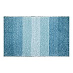 Adelaide Ombré Striped 20-Inch x 33-Inch Bath Mat in Sea