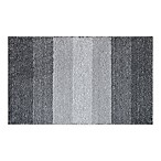 Adelaide Ombré Striped 20-Inch x 33-Inch Bath Mat in Grey