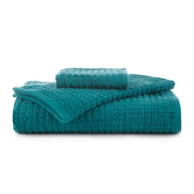 Martex Staybright Texture Hand Towel in Teal. Buy Teal Hand Towel from Bed Bath   Beyond