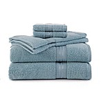 Martex Staybright 6-Piece Towel Set in Blue