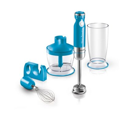 Sencor Hand Blender With 5 Accessories In Turquoise