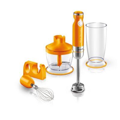 Sencor Hand Blender With 5 Accessories In Orange