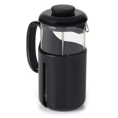 Oxo Good Grips Venture 8 Cup French Press Coffee Maker In Black Clear