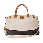 Brouk & Co. The Weekender Bag in Cream