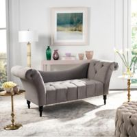Safavieh Couture Jalena Settee in Taupe