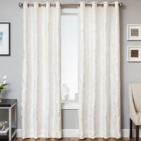 Trinidad 84-Inch Window Curtain Panel in White