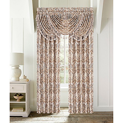 J Queen New York Serenity Window Curtain Panel Pair And