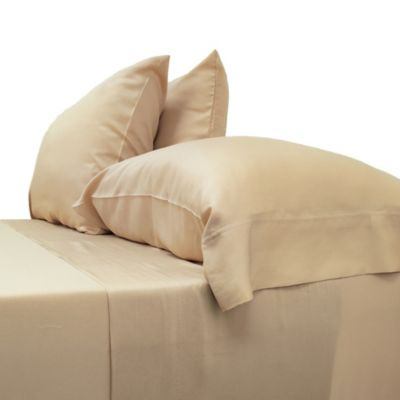 Cariloha® Classic Viscose Made From Bamboo Queen Sheet Set In Sandy Shore