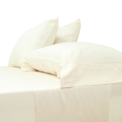 cariloha classic viscose made from bamboo standard pillowcases in ivory set of 2
