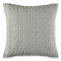 Nico European Pillow Sham in Grey/Aqua