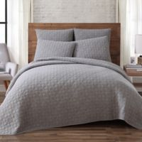 Brooklyn Loom Lincoln Twin Mini Quilt in Grey