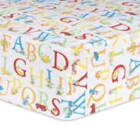 Trend Lab® Dr. Seuss™ ABC Fitted Crib Sheet