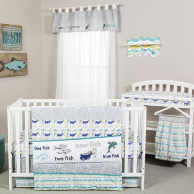 Crib Bedding Sets Trend LabR Dr SeussTM New Fish 5 Piece