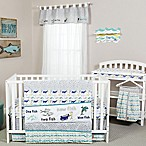 Trend Lab® Dr. Seuss™ New Fish 5-Piece Crib Bedding Set in Blue/Green
