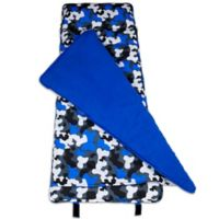 Wildkin Camo Nap Mat in Blue