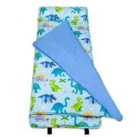 Olive Kids Dinosaur Land Nap Mat in Blue