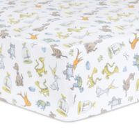 Trend Lab® Dr. Seuss™ What Pet Should I Get Characters Fitted Crib Sheet