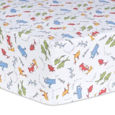 crib bedding sets u003e trend lab dr seuss one fish two fish