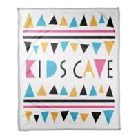 Designs Direct Kids Cave Triangle Throw Blanket