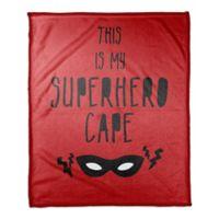 Designs Direct Superhero Cape Throw Blanket