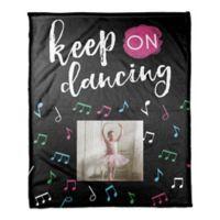 "Designs Direct ""Keep on Dancing"" Throw Blanket"