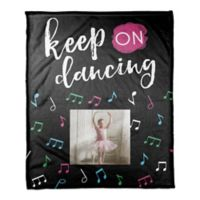 "Designs Direct ""Keep on Dancing"" Throw Blanket"