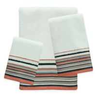 Bacova Portico Coral Hand Towel in Multi