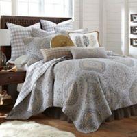 Levtex Home Miren Reversible Twin Quilt Set in Grey