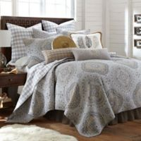 Levtex Home Miren Reversible King Quilt Set in Grey
