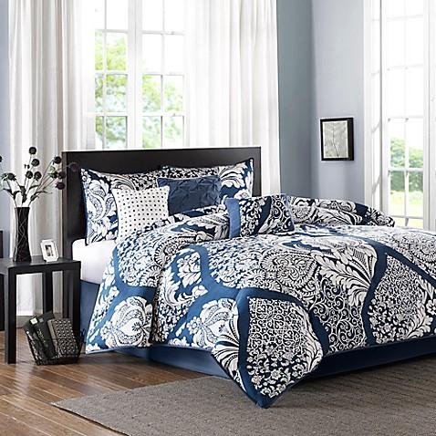 Madison park vienna comforter set bed bath beyond for My indigo wien