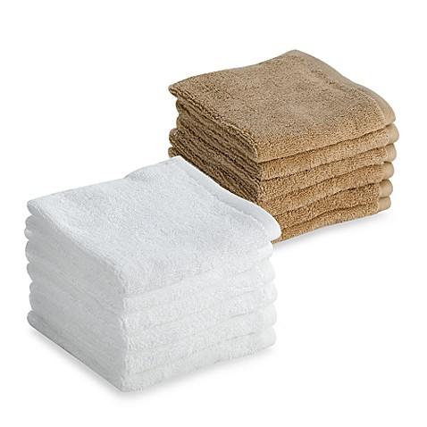 Tranquility Washcloths Set Of 6 Bed Bath Amp Beyond