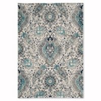 Safavieh Madison Gilly 4-Foot x 6-Foot Area Rug in Cream/Light Grey