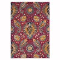 Safavieh Madison Gilly 3-Foot x 5-Foot Area Rug in Fuchsia/Gold