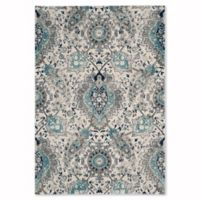 Safavieh Madison Gilly 6-Foot 7-Inch x 9-Foot 2-Inch Area Rug in Cream/Light Grey
